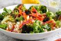 Roasted Broccoli and Barley Salad