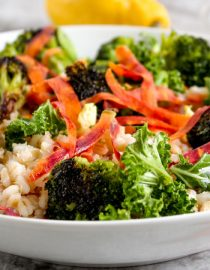 Roasted Broccoli and Barley Salad Recipe