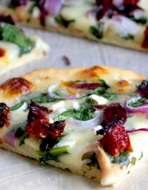 Diabetic Greek-Inspired Pizza Recipe
