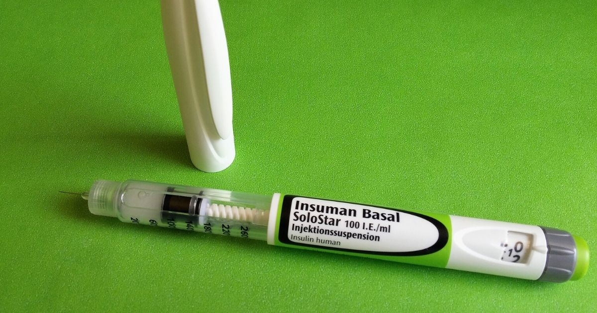 a long-acting insulin (basal) pen