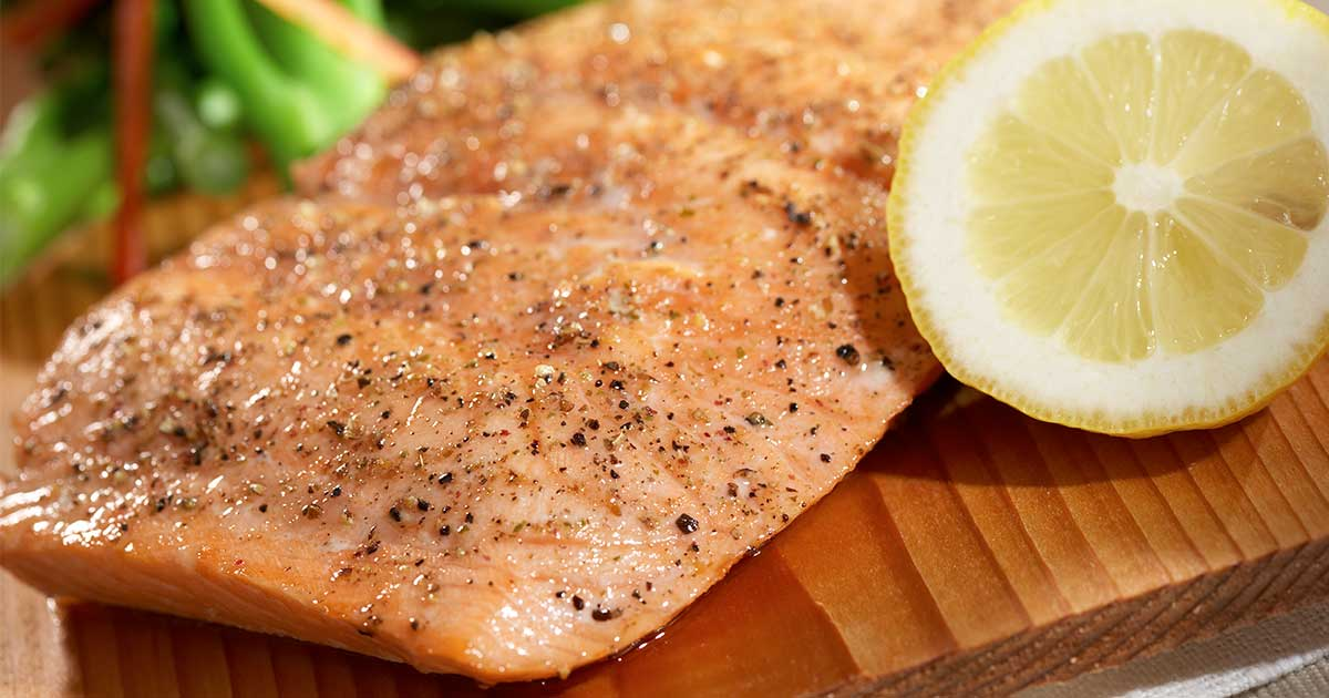 pan seared salmon: a diabetic dinner recipe